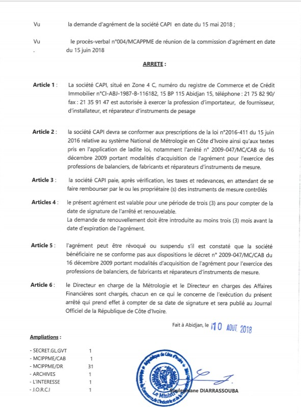 Page 2 agrement capi 2018